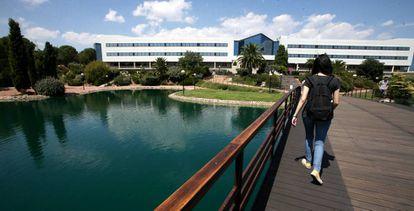 Campus de Villaviciosa de Odon de la Universidad Europea de Madrid.