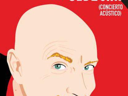 Cartel del concierto de Sergio Makaroff de 2004 en la sala Sidecar