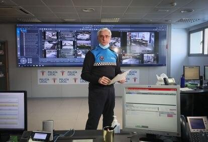 Leonardo Lafuente, en su oficina de Rivas-Vaciamadrid.