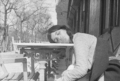 'Durmiendo. España, febrero 1936'. Colección Centro Pompidou.