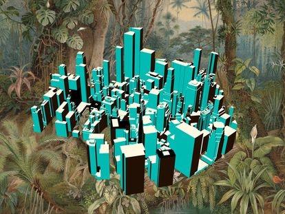 Las supermanzanas, proyecto de Salvador Rueda que en 1987 propuso reinventar la ciudad a partir de la idea original de Cerdá, están concebidas para poner a la naturaleza en el centro de todo.
