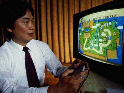 Shigeru Miyamoto, creador de Super Mario.
