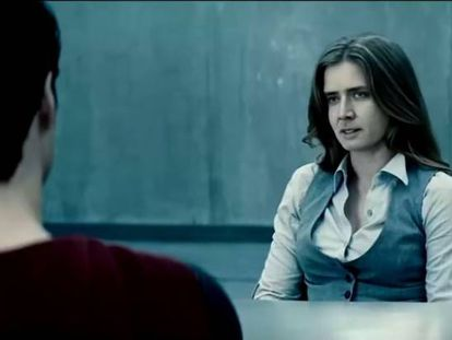 Fotograma del 'deepfake' de Nicolas Cage simulando a Lois Lane.