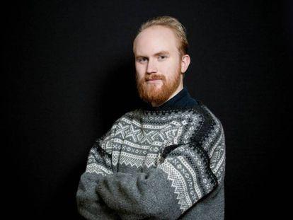 El superviviente Bjorn Ihler, de 25 años, en el Oslo Freedom Forum, en mayo.