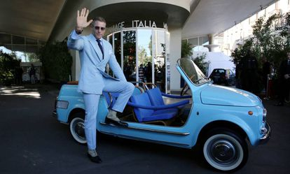 Lapo Elkann en el evento de aniversario de Fiat 500 celebrado en Milán el 4 de julio de 2018.