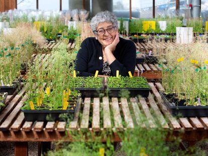 Joanne Chory, en el Instituto Salk, en La Jolla, California.