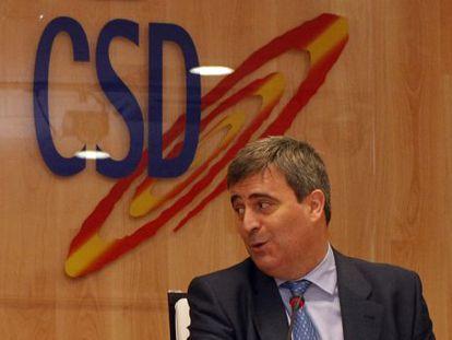 Miguel Cardenal, en la sede del CSD
