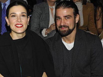 Raquel Sánchez Silva y el que fue su marido Mario Biondo.