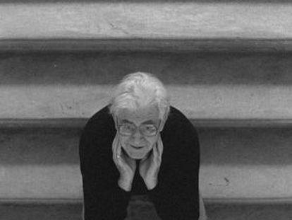 John Arden, dramaturgo, en 1998.