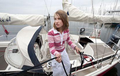 Laura Dekker, en una imagen de archivo del 27 de julio.