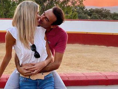 Enrique Ponce y Ana Soria en una imagen del Instagram de la joven.