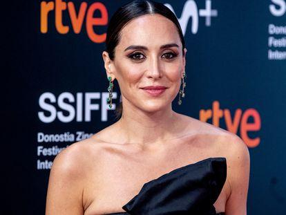 Tamara Falcó, en el Festival de Cine de San Sebastián, el 25 de septiembre de 2020.