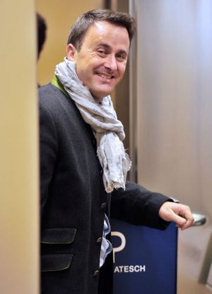 Xavier Bettel, alcalde de Luxemburgo y líder del hasta ahora opositor Partido Democrático.
