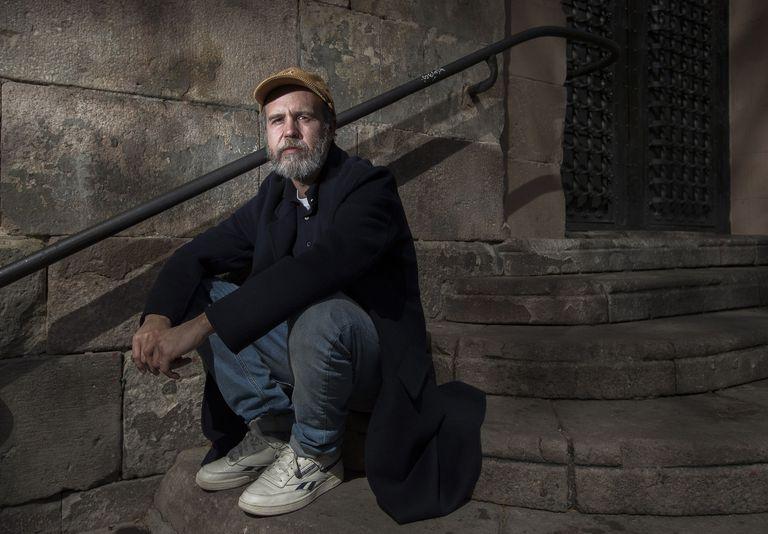 Marc Crehuet, director de cine y teatro y guionista, fotografiado en Barcelona.