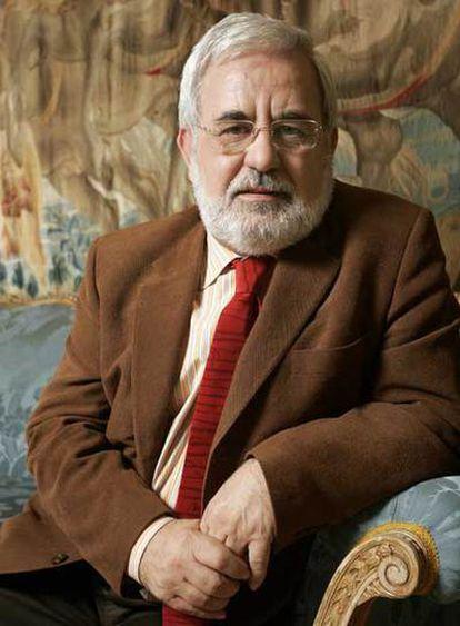 Miguel Ángel Quintanilla, en el Ministerio de Educación y Ciencia.