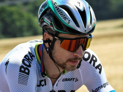 Peter Sagan, durante la cuarta etapa.