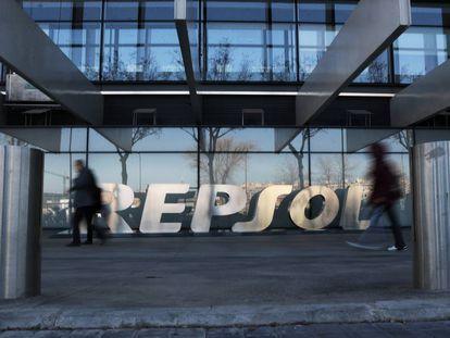 Sede de Repsol en la calle Méndez Álvaro, 44 de Madrid.