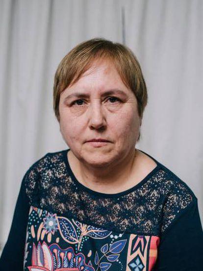 Mercedes acude a un grupo de terapia exclusivamente femenino en la asociación vallisoletana Ajupareva.