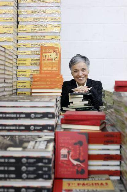 La escritora portuguesa Dulce Maria Cardoso.