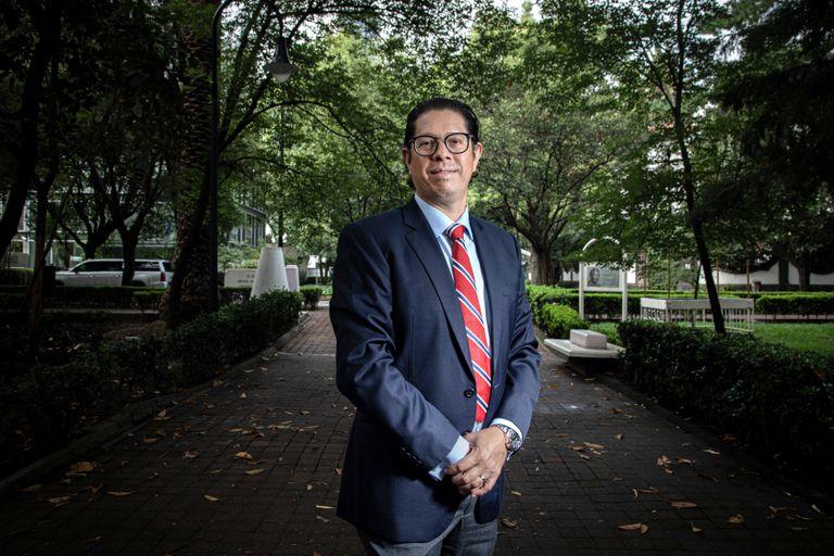 Juan Carlos Baker, Subsecretario de Comercio Exterior, en Ciudad de México, el 03 de Agosto de 2020.