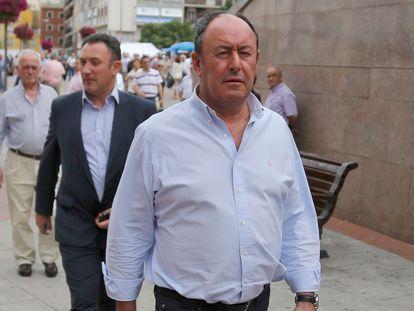 Luis Miguel Rodríguez, dueño de desguaces La Torre.