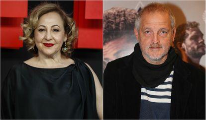 Carmen Machi y Jordi Rebellón.