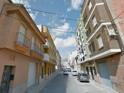 Calle Echegaray de Jumilla (Murcia).