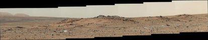 Panoramica de Marte obtenida por el Curiosity. / NASA / JPL