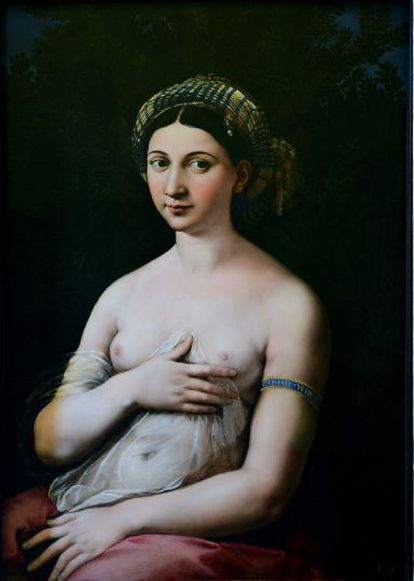 'La Fornarina', de Rafael Sanzio.