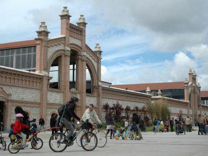 El Centro Cultural Matadero de Madrid.