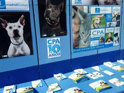 Centro de Protección Animal del Ayuntamiento de Madrid.