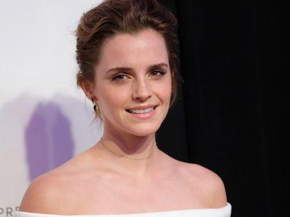 Emma Watson en un estreno en Nueva York en abril de 2017.