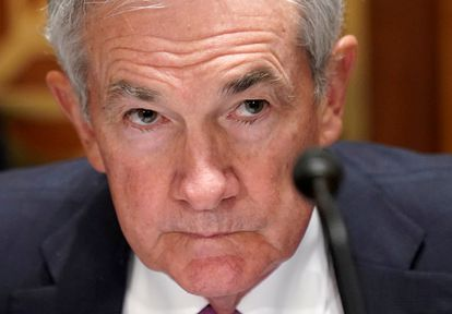 Jerome Powell, presidente de la Reserva Federal, en una audiencia ante el Congreso en julio pasado.