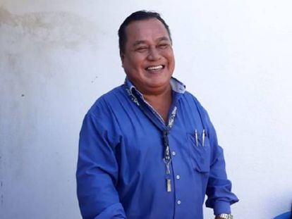 El periodista veracruzano Jorge Celestino Ruiz.