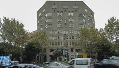 Sede del Departament de Justícia, en Barcelona.