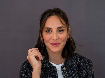 Tamara Falcó, este miércoles, en Madrid.