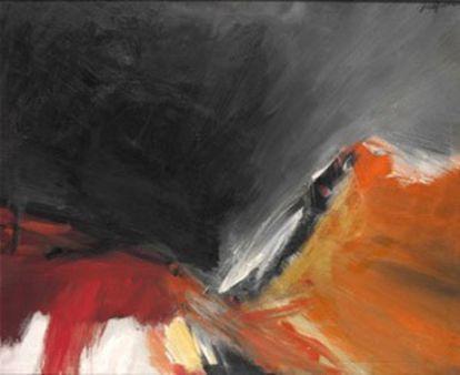 'Sol y sombra' de José Guerrero (30.000 euros).