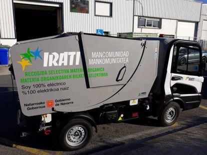 En 2018 la Mancomunidad adquirió un vehículo eléctrico para recoger la materia orgánica, y reducir las emisiones en transporte