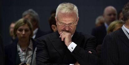 El expresidente de Volkswagen, Martin Winterkorn, en una imagen de archivo.