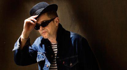 El cantante Santiago Auserón, en una imagen de archivo.