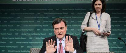 El director de Asuntos Monetarios del FMI el español José Viñals.