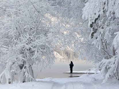 Entorno natural en la provincia siberiana de Krasnoyarsk.