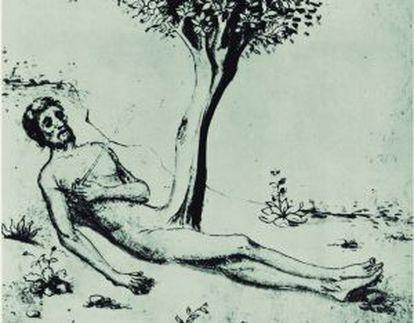 'El estado de Adán, representando el aspecto masculino'.