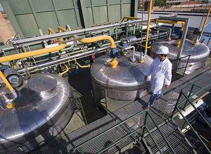 Planta de producción de biocarburantes del grupo Natura en Toledo.