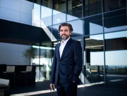 Ignacio Juliá, consejero delegado de ING, en la sede de la entidad en Madrid