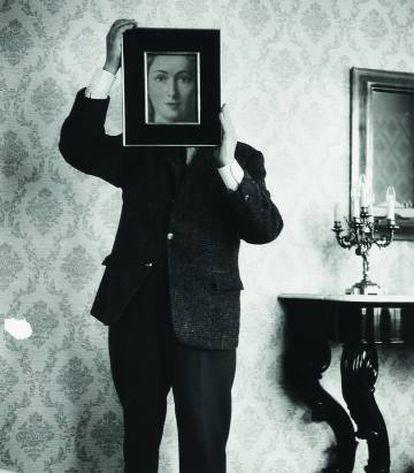 René Magritte y El parecido ( de la serie Lo eternamente obvio), c.a 1962