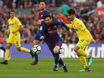 Barcelona vs Villarreal.