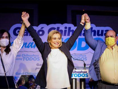 Maru Campos, futura gobernadora de Chihuahua.