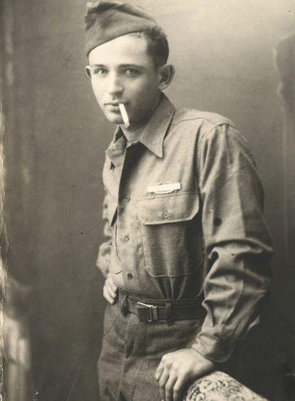 Norman Mailer en 1946.