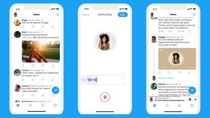 El nuevo servicio de notas de voz de Twitter